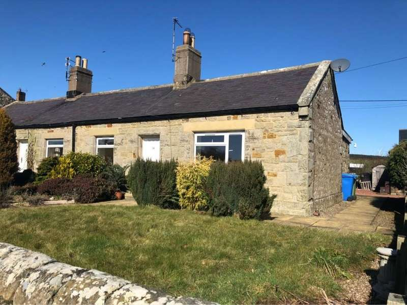 2 Bedrooms Semi Detached Bungalow for rent in South Charlton, Alnwick, Northumberland