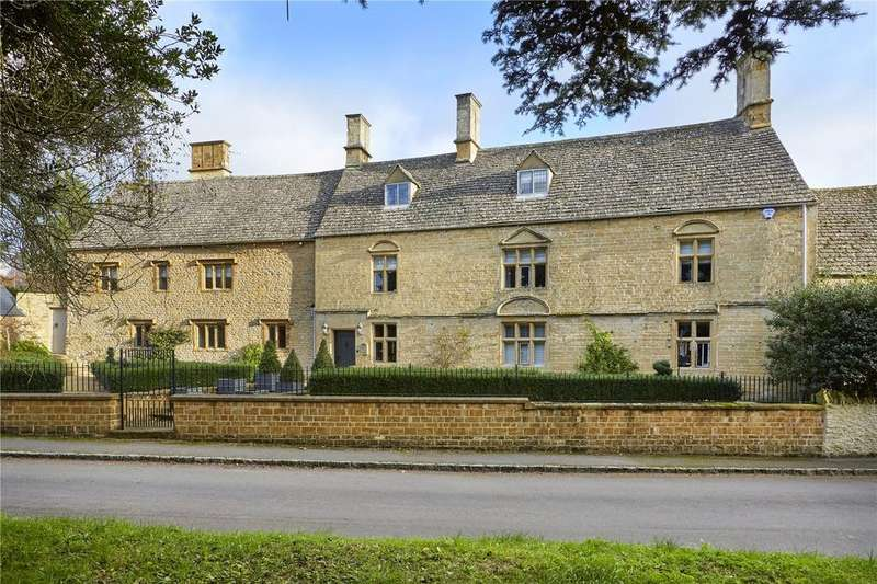 6 Bedrooms Detached House for sale in Manor Road, Sandford St. Martin, Chipping Norton, Oxfordshire, OX7