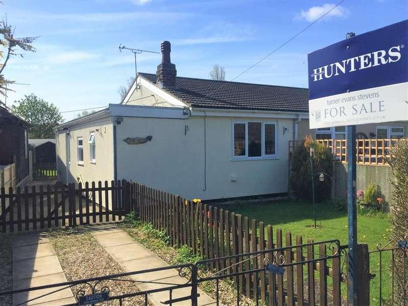 1 Bedroom Semi Detached Bungalow for sale in Kent Avenue, Theddlethorpe,