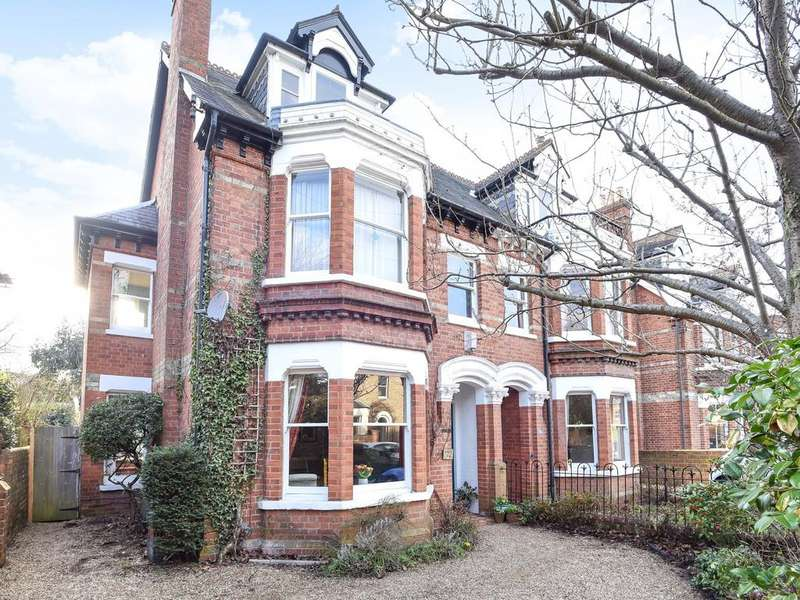 5 Bedrooms Semi Detached House for sale in Hamilton Road, Reading, RG1