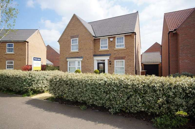 4 Bedrooms Detached House for sale in Tiber Road, North Hykeham, Lincoln