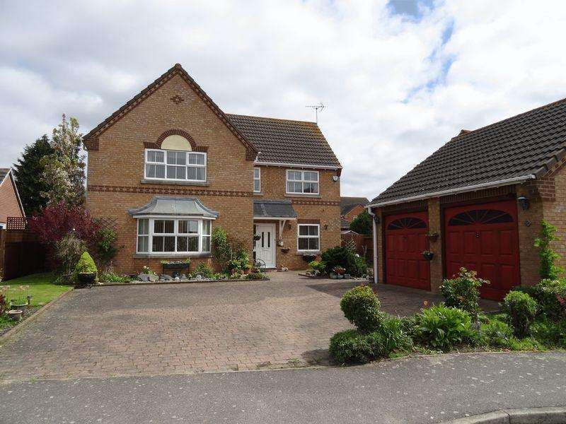 4 Bedrooms Detached House for sale in Wimberley Close, Weston
