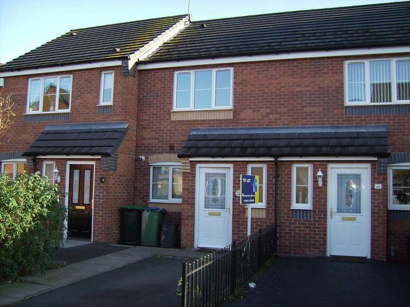 2 Bedrooms Terraced House for rent in Anchor Drive, Tipton,