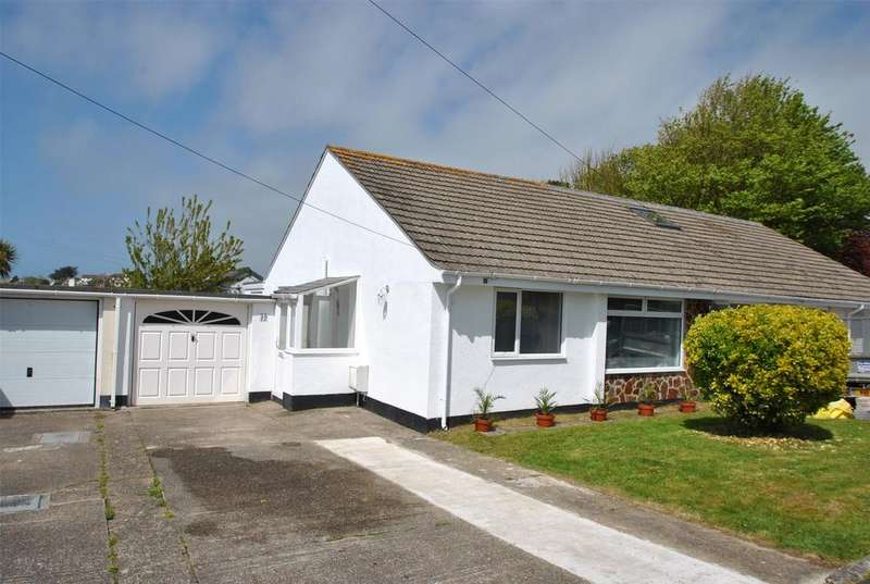 2 Bedrooms Semi Detached Bungalow for sale in Meadow Drive, Bude