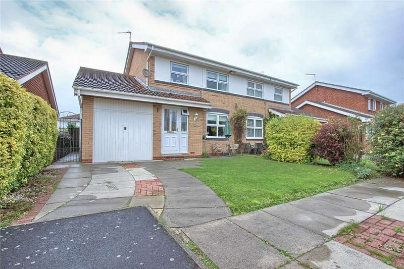 3 Bedrooms Semi Detached House for sale in Blackburn Grove, Marske-by-the-Sea