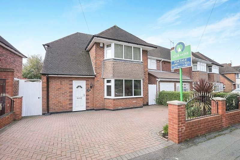 3 Bedrooms Detached House for sale in Cumberland Road, Bilston, WV14