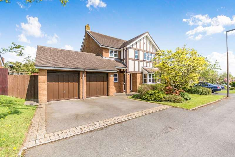 4 Bedrooms Detached House for sale in Whitford Drive, Monkspath, Solihull