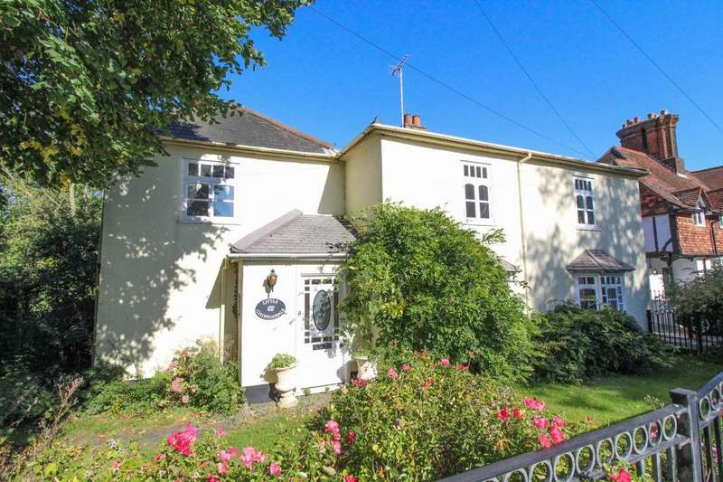 4 Bedrooms Detached House for sale in Goldings Cottages, Great Warley Street, Brentwood, Essex, CM13