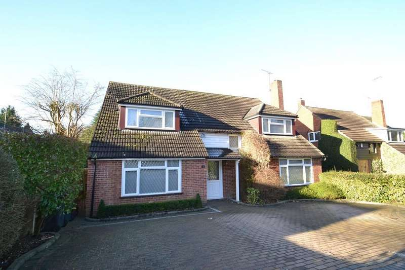 4 Bedrooms Detached House for sale in Kitswell Way, Radlett