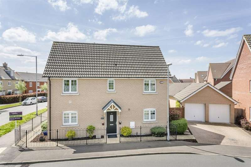 4 Bedrooms Detached House for sale in Hampton Road, Stansted Mountfitchet, Essex