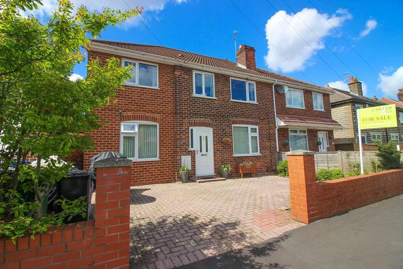 4 Bedrooms Semi Detached House for sale in Windermere Road, Heavily, Stockport, SK1