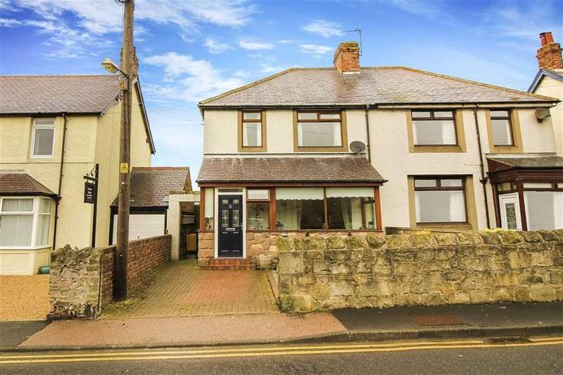3 Bedrooms Semi Detached House for sale in Main Street, Seahouses, Northumberland