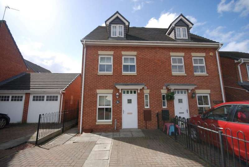3 Bedrooms Town House for sale in Flanders Court, Birtley