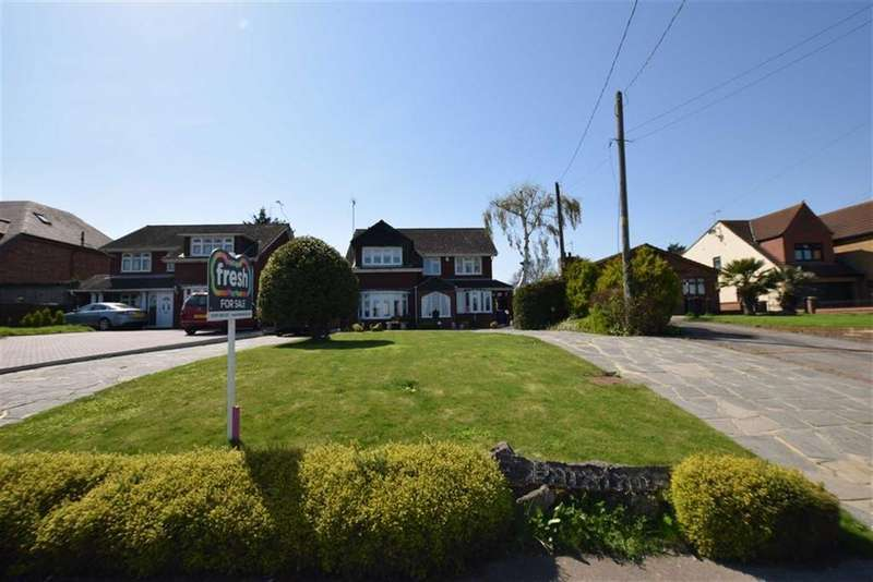 4 Bedrooms Detached House for sale in High Road, Fobbing, Essex