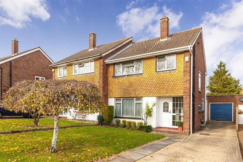 3 Bedrooms Semi Detached House for sale in Howard Drive, Letchworth Garden City