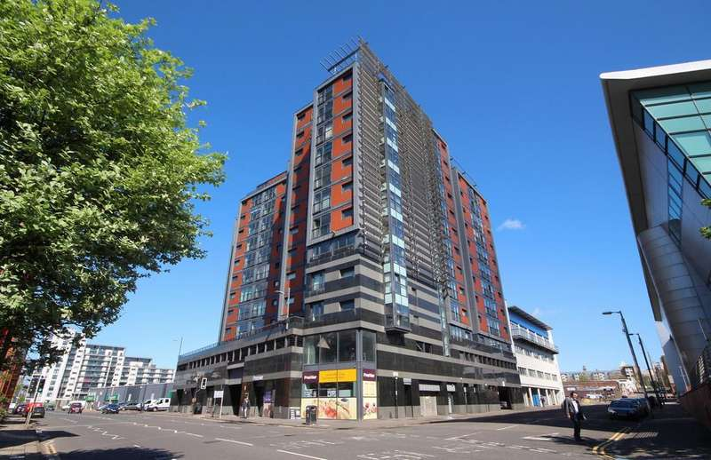 2 Bedrooms Flat for sale in Lancefield Quay, River Heights, Glasgow G3