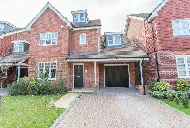 4 Bedrooms Detached House for sale in CONTEMPORARY SPACE. SADDLERS MEWS, ASCOT, BERKSHIRE, SL5 8FW