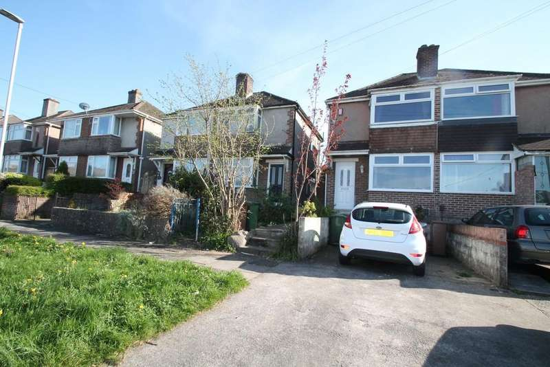 2 Bedrooms Semi Detached House for sale in Valiant Avenue, West Park, Plymouth