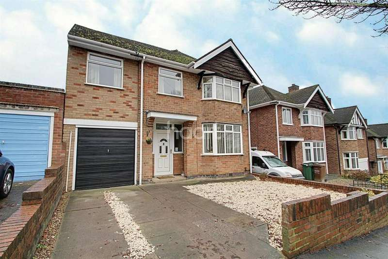 4 Bedrooms Detached House for sale in Greengate Lane, Birstall, Leicester