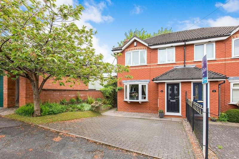3 Bedrooms Semi Detached House for sale in Stevenage Drive, Macclesfield, SK11