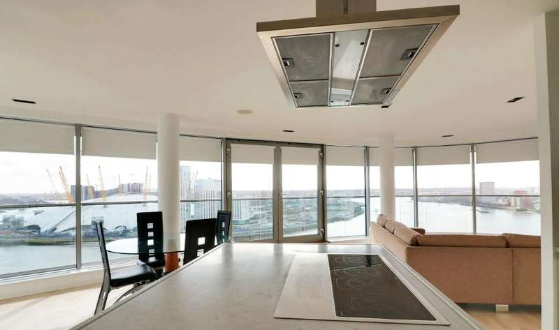 3 Bedrooms Apartment Flat for sale in New Providence Wharf
