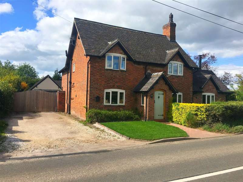 4 Bedrooms Detached House for sale in Yew Tree Cottage, Stafford