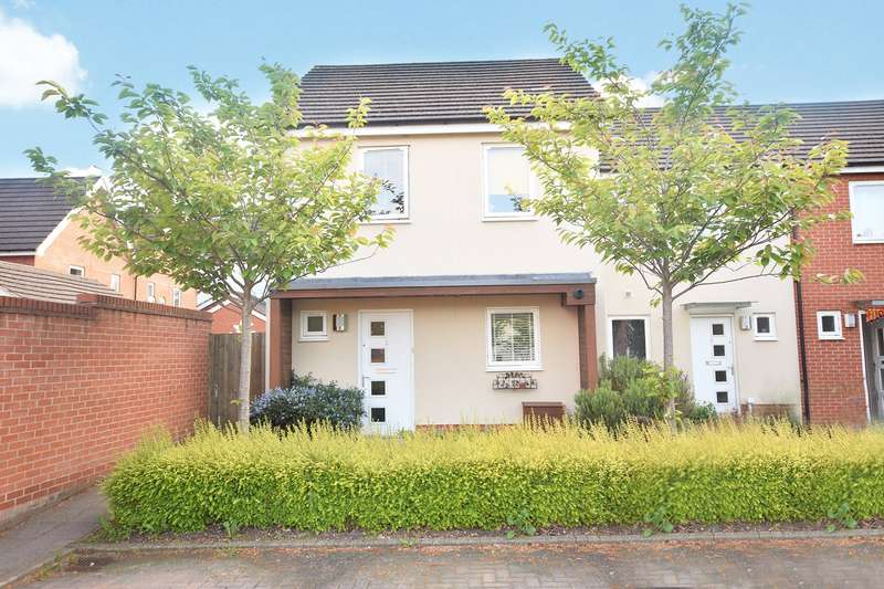 3 Bedrooms End Of Terrace House for sale in Avro Square, The Parks, Bracknell, Berkshire, RG12