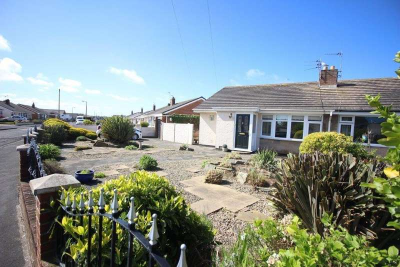 2 Bedrooms Semi Detached Bungalow for sale in Inglewood Close, Fleetwood