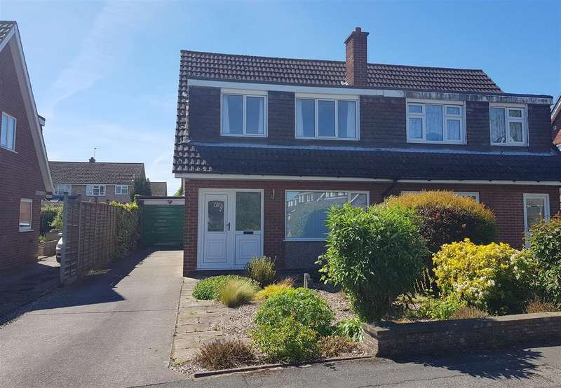 3 Bedrooms Semi Detached House for sale in Hoylake Drive, Mickleover, Derby