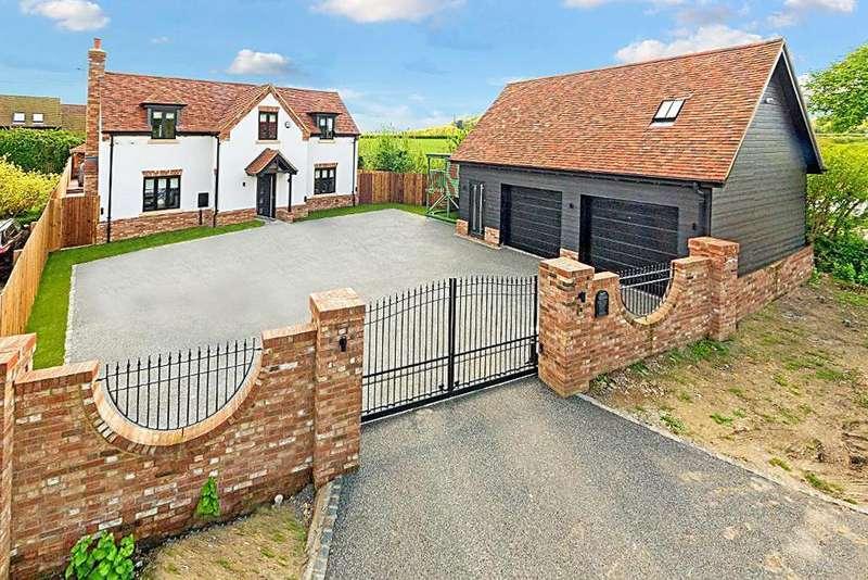 4 Bedrooms Detached House for sale in West End Road, Silsoe, Bedfordshire, MK45 4DU
