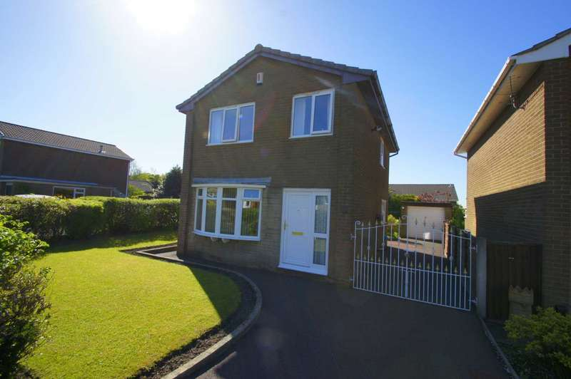 3 Bedrooms Detached House for sale in Avebury Close, Horwich