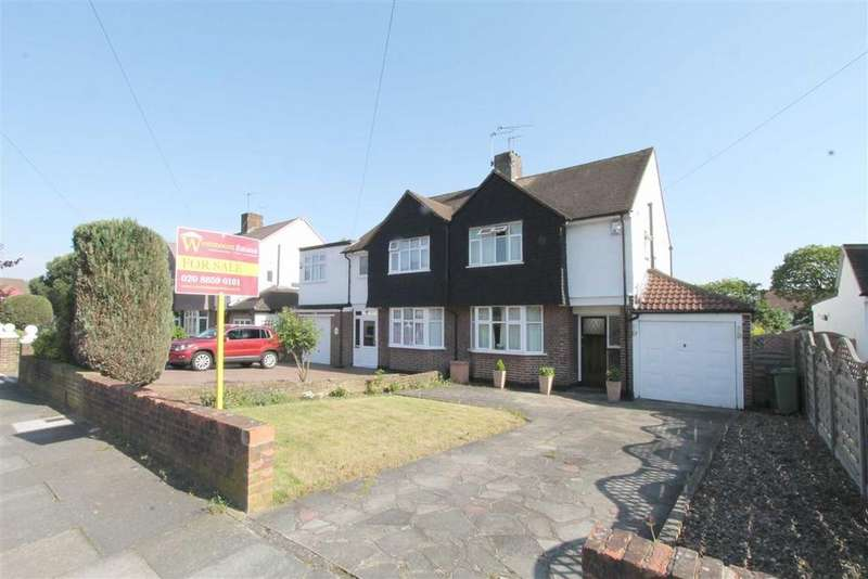 3 Bedrooms Semi Detached House for sale in Packmores Road, Eltham, London