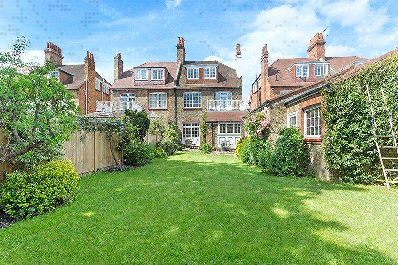 6 Bedrooms Semi Detached House for sale in The Avenue, Chiswick, London, W4