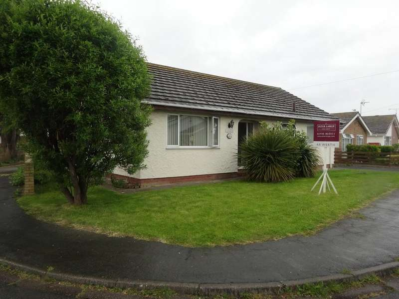 2 Bedrooms Detached Bungalow for sale in Plastirion, Towyn