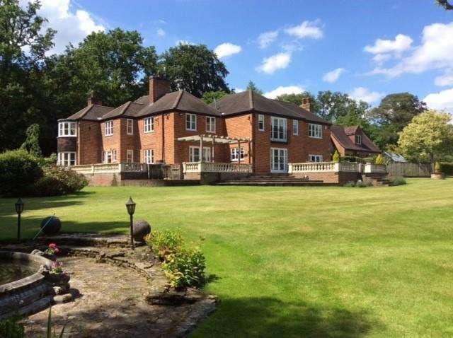 5 Bedrooms Detached House for sale in Windlesham, Surrey, GU24
