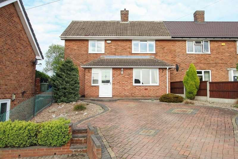 3 Bedrooms Semi Detached House for sale in The Crescent, Brimington, Chesterfield