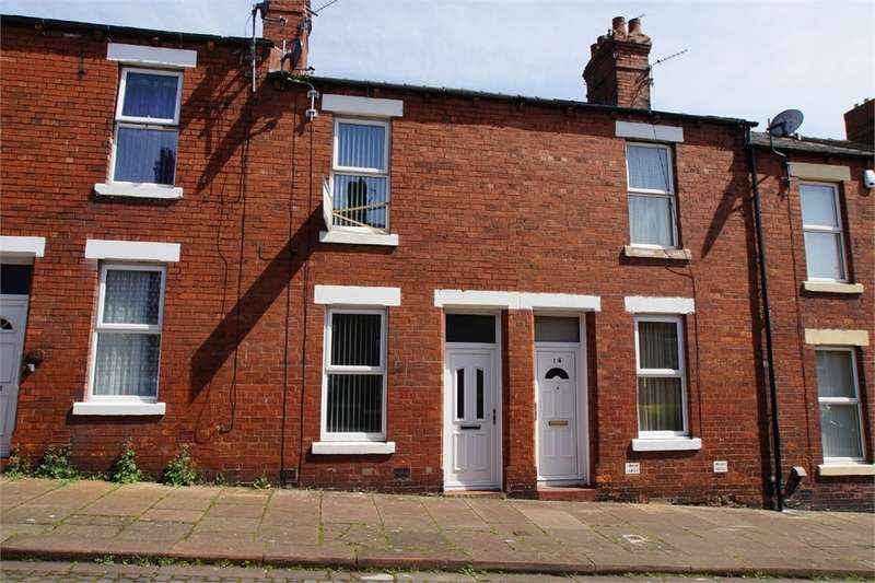 2 Bedrooms Terraced House for sale in CA2 7PF Lawson Street, Off Newtown Road, Carlisle, Cumbria