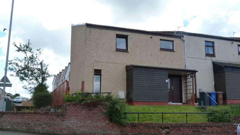 2 Bedrooms End Of Terrace House for rent in Mallaig Road, Port Glasgow
