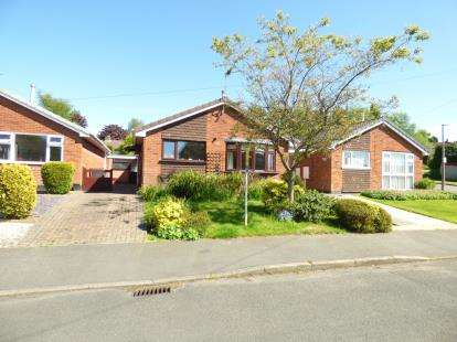 2 Bedrooms Bungalow for sale in Windsor Road, Ashby-de-la-Zouch