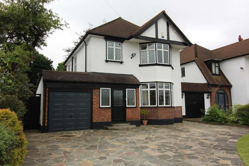 3 Bedrooms Detached House for sale in Sherbourne Road, Petts Wood, Orpington, Kent, BR5 1GW