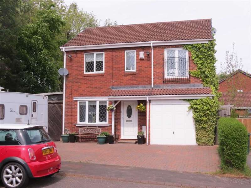 3 Bedrooms Detached House for sale in Lapwing Close, Ayton, Washington