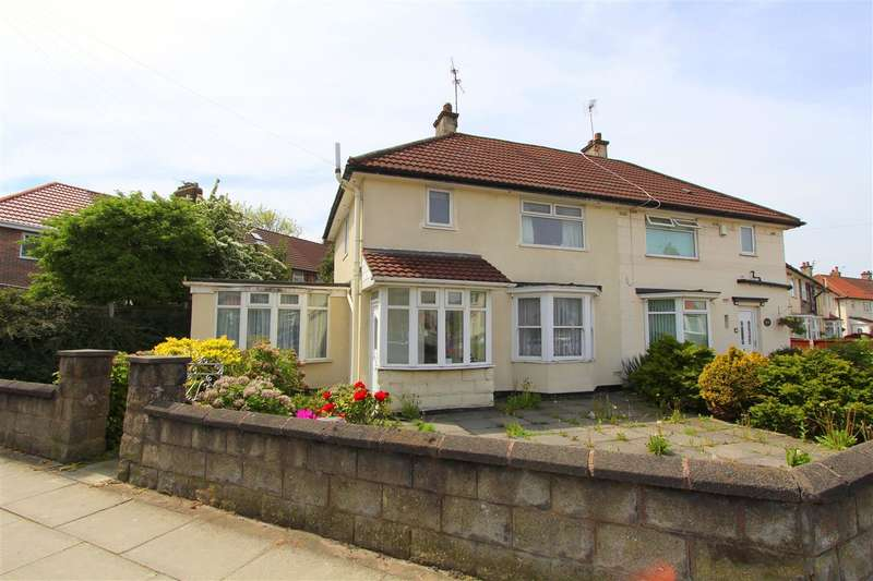 3 Bedrooms Semi Detached House for sale in Chatterton Road, Knotty Ash, Liverpool