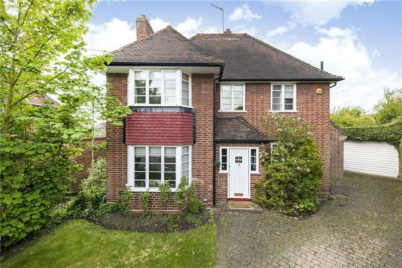 4 Bedrooms Detached House for sale in Harford Walk, London, N2