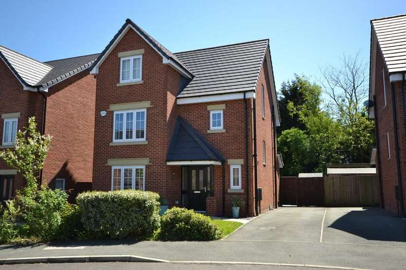 4 Bedrooms Detached House for sale in Sandfield Crescent, Whiston, Prescot