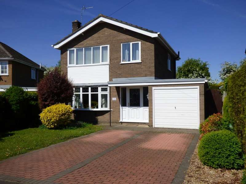 3 Bedrooms Detached House for sale in Mayfair Drive, Spalding