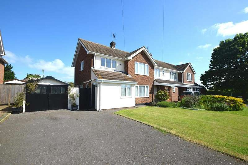 3 Bedrooms Semi Detached House for rent in Armond Road, Witham, Essex, CM8