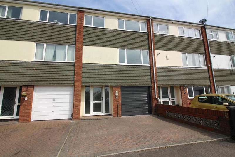 3 Bedrooms Town House for sale in Eaton Close, Fishponds, Bristol, BS16 3XL