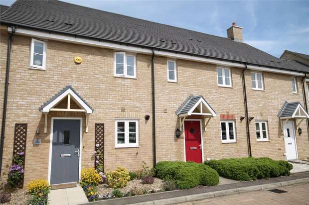 3 Bedrooms Terraced House for sale in Knoll Gardens, Wixams