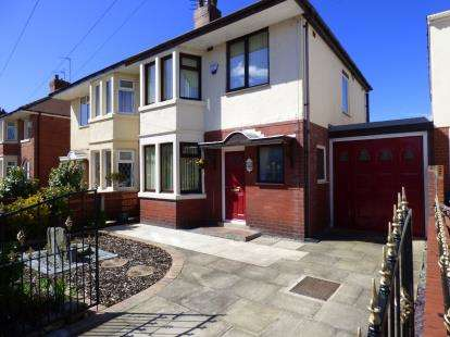 3 Bedrooms Semi Detached House for sale in Longridge Avenue, Blackpool, Lancashire, ., FY4