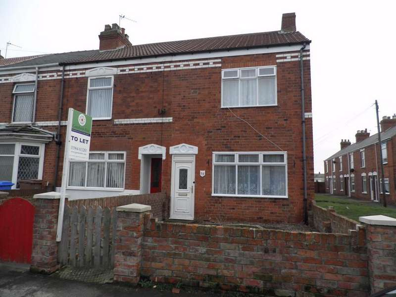 2 Bedrooms End Of Terrace House for rent in Princes Avenue, WITHERNSEA, East Riding of Yorkshire